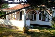 """Hungarian guesthouse-  Alfold, the houses /   introducing the """"Tanya """"which has 2 housesfully furnished and equipped with all comforts . It located near the Romanian border in a small rural Hamlet close to Gyula, Szeged  Mako.  We are offering them for rental : $400 - 600 per week Contact Ildiko: info@orchardcroft.ca"""