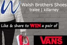 Offer & Competitions / Check out our competitions and promotions at www.walshbrothersshoes.ie