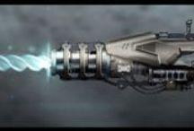 Scifi weapons / Handguns, rifles and big guns