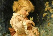 ~Children in Art / by Elizabeth Ann