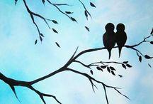 Pássaros e desenhos / Passarinhando