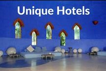 Unique Hotels / Unique and quirky hotel reviews and features on Boutique Travel Blog