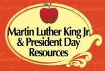 Martin Luther King Jr & President's Day Resources / Teaching Resources for Martin Luther King Jr & President's Day to help busy educators!