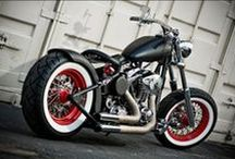 BOBBER MOTORCYCLES / BOBBERS CHOPPERS BIKES MOTORCYCLES