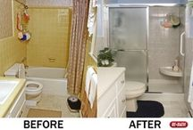 Bathroom Remodeling Before & After / Before and after pictures show how ReBath of Boston can make any bathroom beautiful! / by Bay State Re-Bath