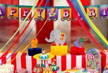Fête Foraine et cirque / Pour un goûter d'anniversaire féérique et vintage