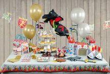 Chevalier & dragons / Des chevaliers, des princesses médiévales, des châteaux-forts et des dragons pour un anniversaire de légende !