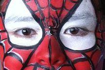Super-Héros et jeux vidéo / Des super-héros de dessins animés et de jeux vidéo pour un anniversaire 100% action !!