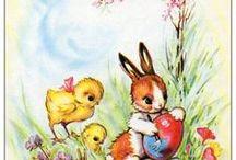 Pâques / Lorsque les cloches, les lapins et les poussins sonnent le retour des beaux jours !