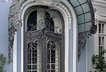 Porte, portail, fenêtre, hall, entrée, porche ... / by Guy Combes