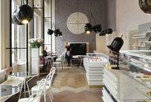 Интерьер - ресторан и кафе / design restaurant & cafe