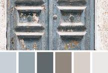 Цвета и оттенки для интерьера / Color trend at home interior / цвета года от краски Sherwin-Williams: январь