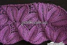 krásne pletené vzory / šikovnosť a krása