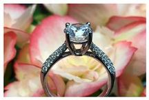 Engagement and Wedding Rings / A collection of assorted styles of Engagement Rings and Wedding Rings. Remember to watch my custom design pins for examples of one of a kind styles.