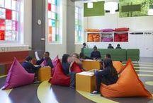 Интерьеры - школы и центры образования/ School design interior, cultural centres