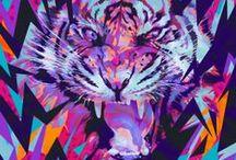 Retrowave & Cyberpunk Art