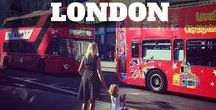London with Kids / Inspiration to explore the beautiful city we live in!