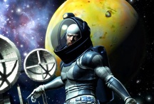 Science Fiction & Fantasy Art / Moderne and vintage Science Fiction & Fantasy  art