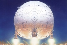 Peter Elson Science Fiction illustrator