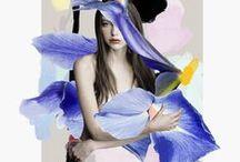 Collage, Montage, Visage