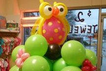 Balloon Bouquets / Balloon bouquets created by Balloon Notes & Flowers for today