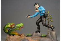 MODEL KITS / Science Fiction, Fantasy or Weird