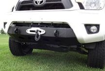 Tacoma Winch Mount / Photos from our customers of our Tacoma Winch Mount Bumpers. http://usoffroad.us/store/tacoma-bumper-2012