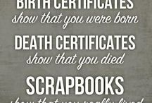 Crafting Scrapbooking / Ideas & layouts for Scrapbooking & cards