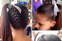 Peinados / Ideas de PEINADOS para niñas para que luzcan impecables y con una imagen más positiva de sí mismas.