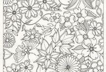 ♣ Art - Mandalas / Mandalas, dibujos para pintar, downloables, printing