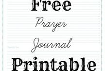 faith / looking for ideas to make my own praying journal and bible study book