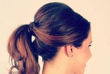 Hair style buns / Chignons,coiffure