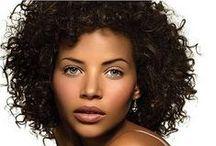 Girl's curly hair / cheveux bouclés,crépus