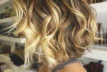 Hair' colors / Cheveux colorés /couleurs