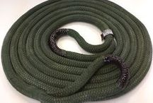 """USOR Recovery Rope / New 30' x 1"""" recovery rope and rock sheaths made here in Texas!"""