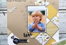 Stampin' Up! Scrapbooking layouts / Pins of Stampin' Up scrapbooking layouts I love, Stampin' Up layouts I've created myself or other layouts I like that I want to recreate with my STampin' Up products.