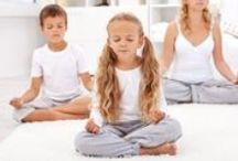 Kids Yoga / Kids bring their own unique joy and beauty to yoga poses.