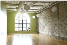 Beautiful Yoga Studios / Practicing yoga in a beautiful space can elevate our experience of yoga even further.
