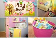DESIGN/DIY: Child's Inside Play Area / by Missy Shaffer