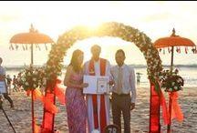 BEACH WEDDING IN BALI / Beach Wedding #ArtsofWedding  http://balihomewedding & http://lombokweddingplanner.com