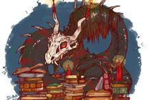 Драконы / Это доска о зле...