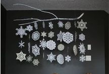 Paper Snowflakes / January Loves Paper Snowflakes!