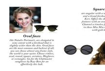 Summer Accessories / It's always been a dilemma how to pick the perfect sunglasses to suit my face...check out your guideline
