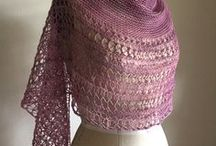 Knit Gallery: Rosewater. / Gorgeous Rosewater shawls made by lovely knitters of Ravelry.