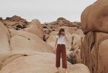 Desert + Dunes / Spring is nearing the end and summer is almost here! To get you ready we launched Desert Quest, a lookbook that follows Kait through her desert road trip and highlights our favorite transitional pieces.   Photographer : Michael Giroux