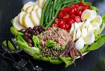 Salads for Lunch, or Diner