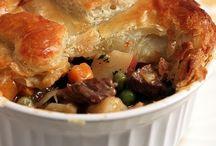 Pot pie and casseroles
