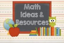 Math / Resources, ideas, mentor texts and freebies for teaching math.