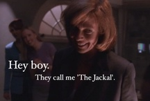 """""""Ginger, get the popcorn."""" / One of the greatest TV shows ever created.   #westwing #aaronsorkin #joshlyman"""