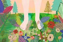 ilustraciones / Ilustraciones que nos enamoran e inspiran.